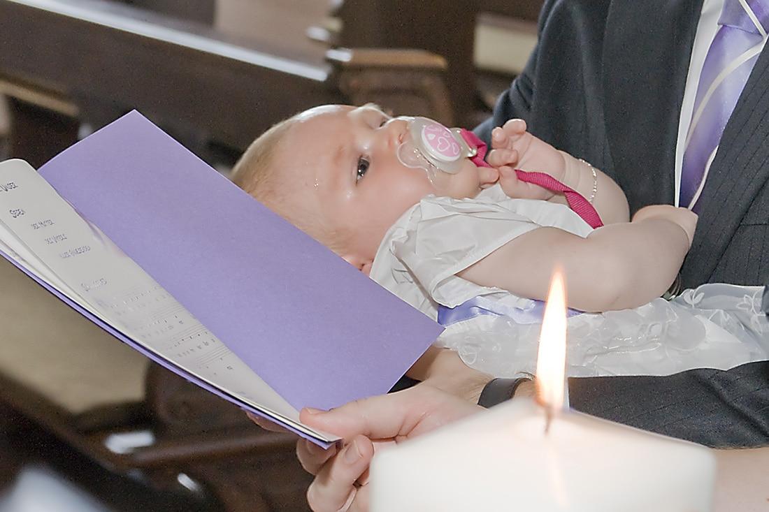 Fotografie bei der Taufe