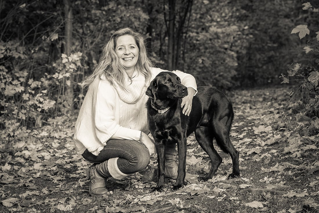 Portraitfotografie mit Haustier