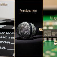 Fotografie - Filmproduktion - Fremdsprachen