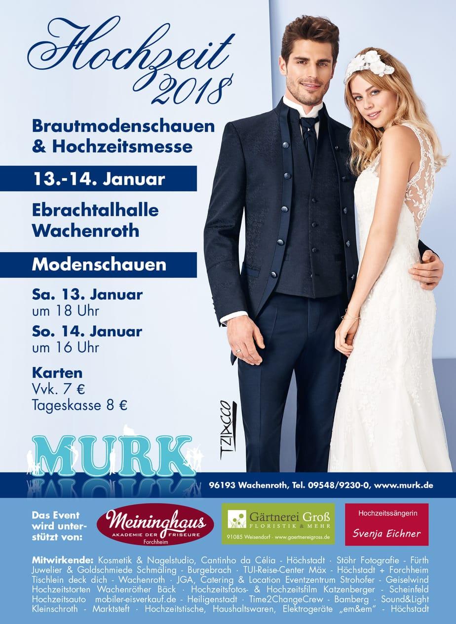 Hochzeitsmesse 2018 im Modehaus Murk