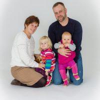Familienfotos mit Kleinkindern