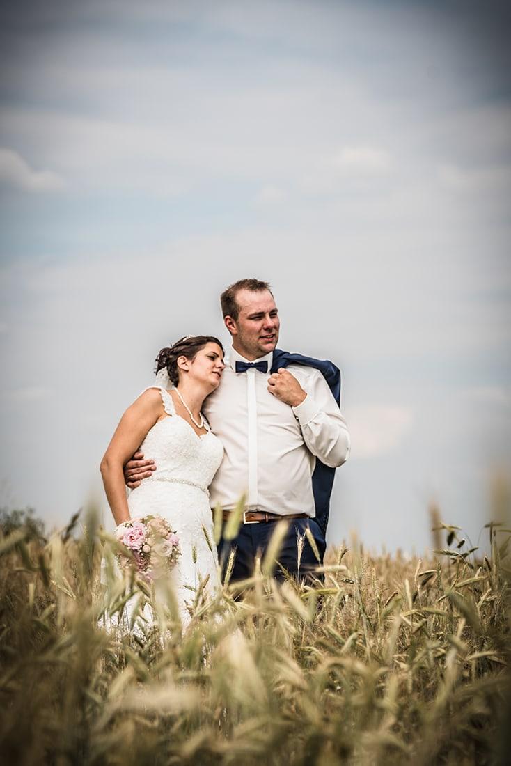 HDR-Hochzeitsfoto mit Vignette