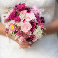 Hochzeitsfotos im Weinberg und in der Kirchenburg