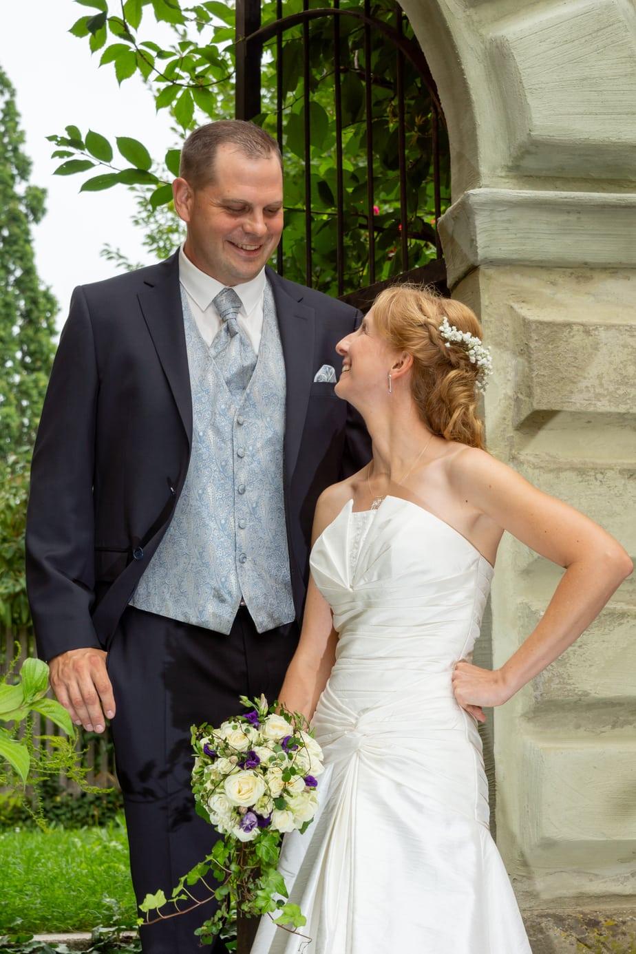 Hochzeitsfotografie im Schlossgarten