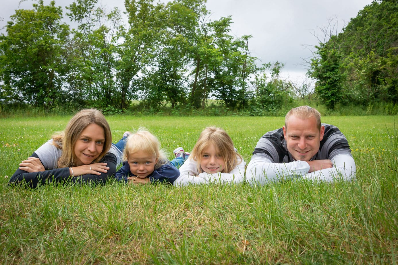 Familienaufnahmen in der Natur