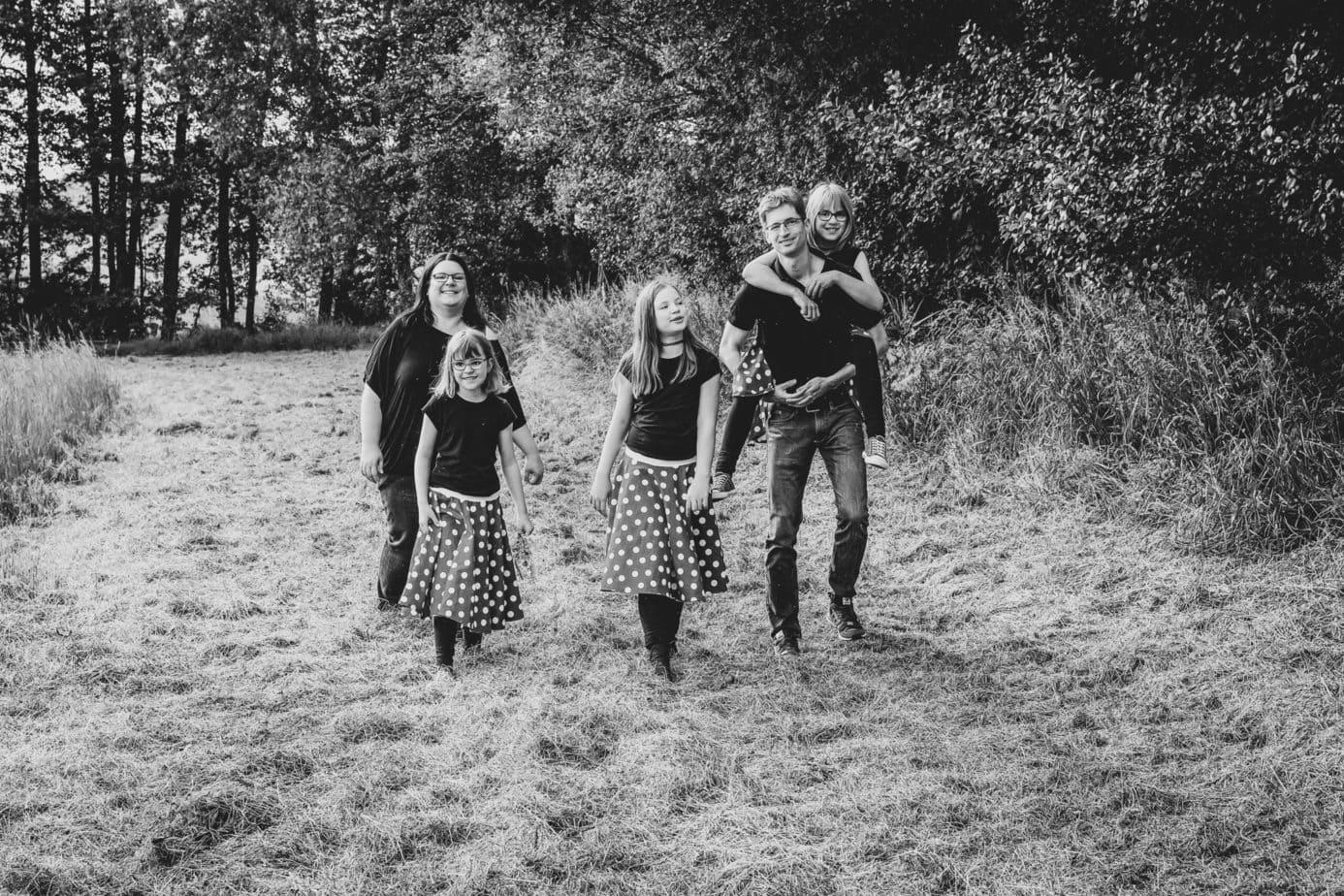 Familienfotografie im Corona-Frühling