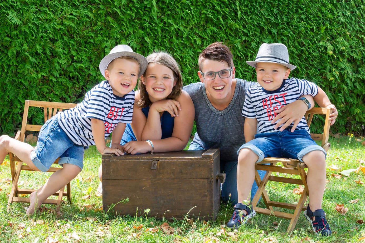 Familienfotos beim Spielplatzshooting