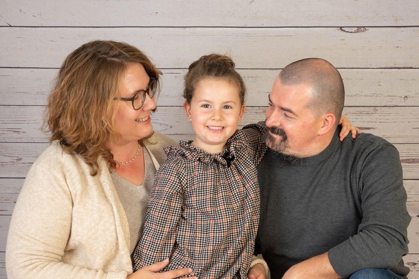 Familienfotos in der Kita