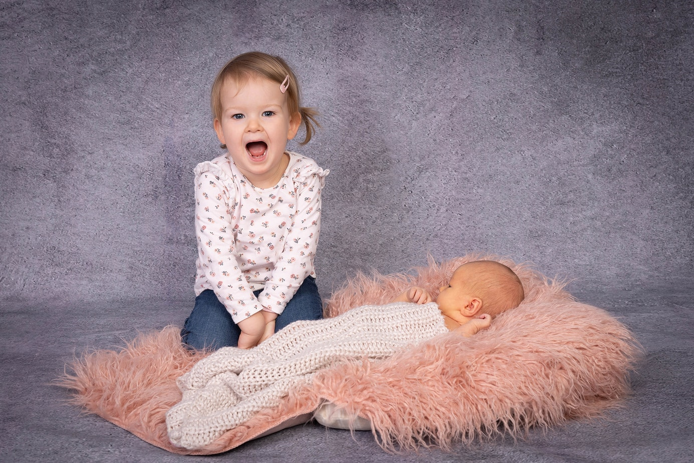 Babyfotos im Studio