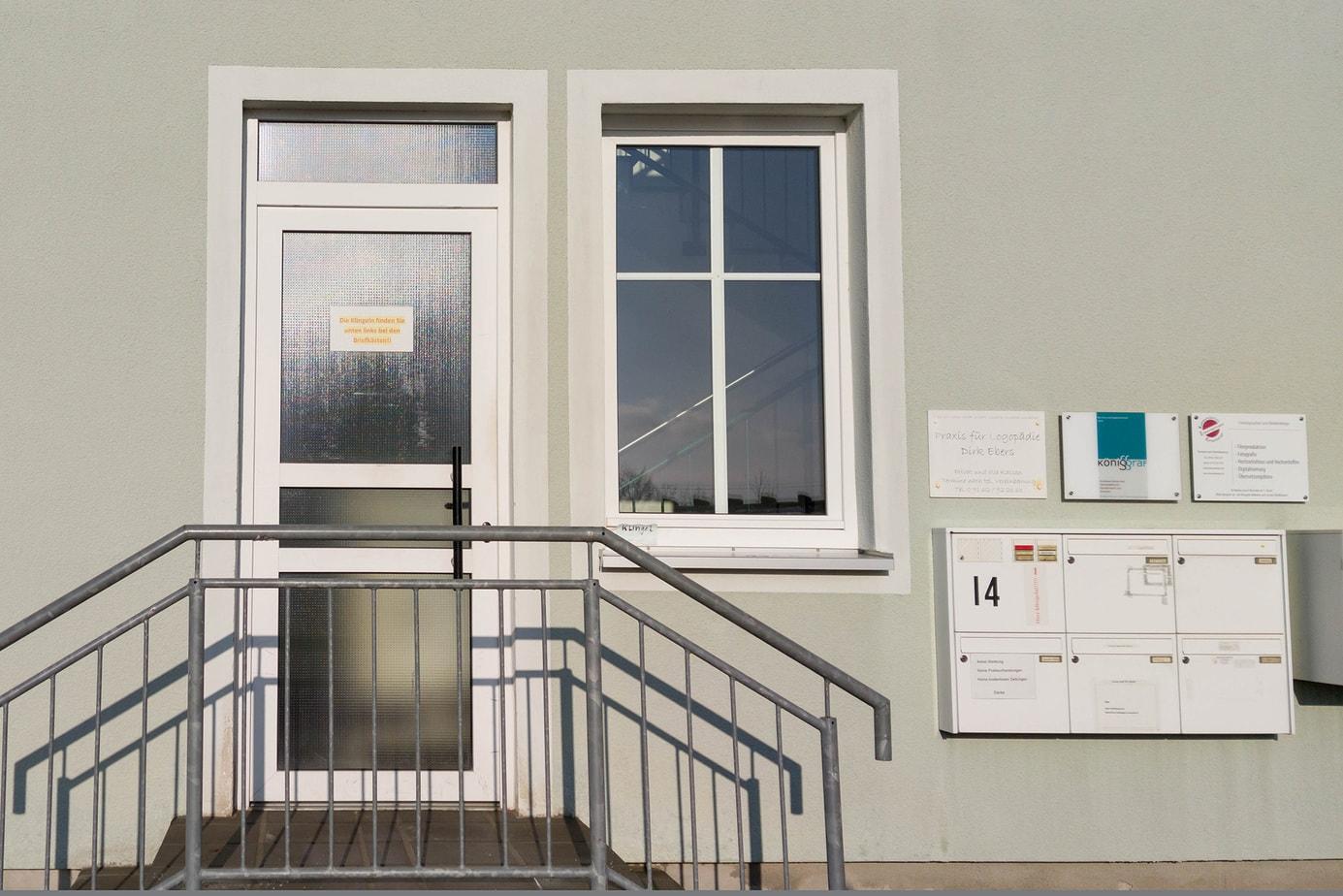 Eingang Fotografie Katzenberger