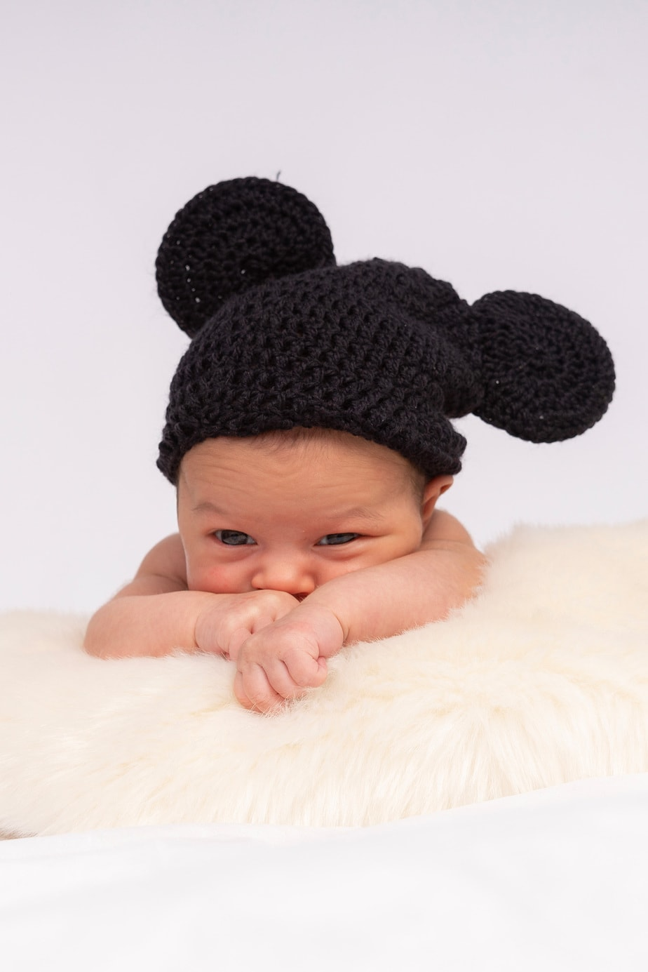 Neugeborenenfotografie im Studio