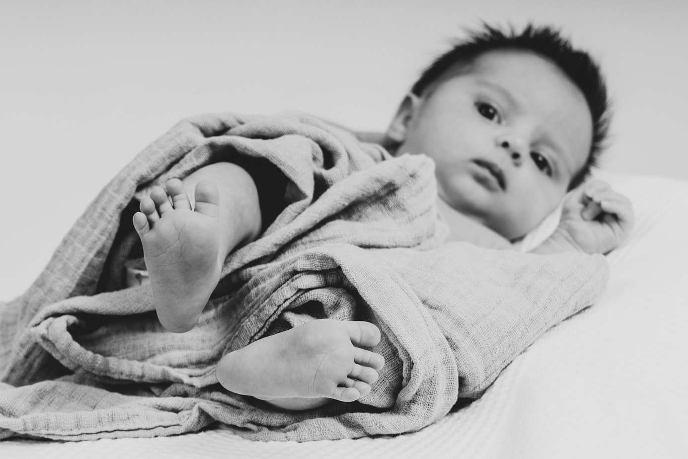 Babyfoto im Studio