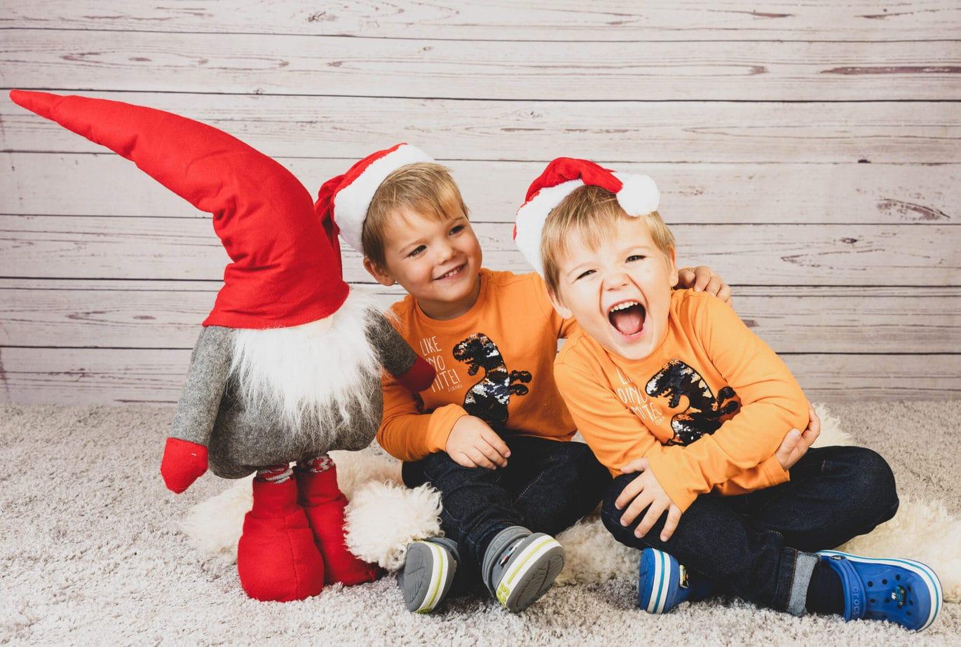 Weihnachtsshooting im Kindergarten